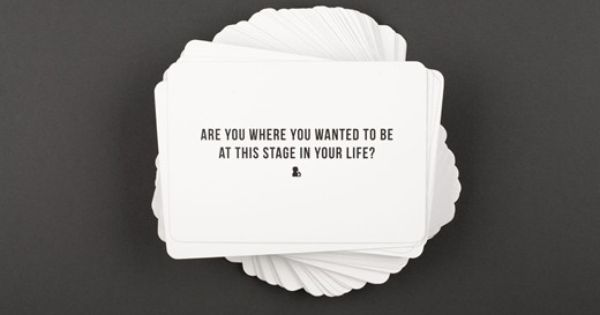 Alain De Botton S 100 Questions Cards This Or That Questions