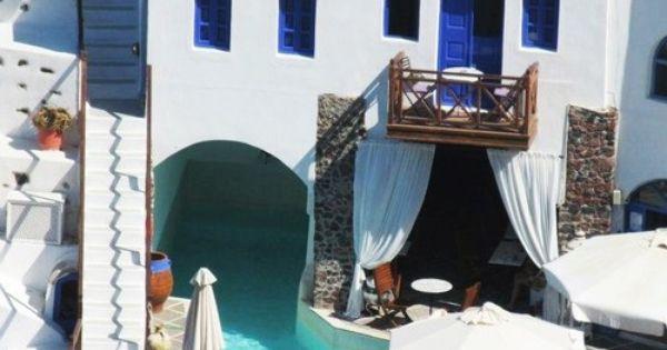 Santorini Lifestyle Greek Influence Pool House Balcony Outdoor