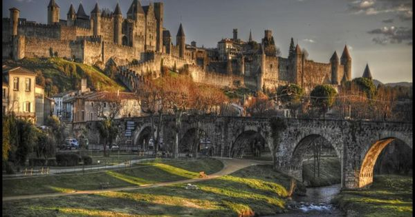 Carcassonne, France. | Inspiration for the City of Stonewall and the immense