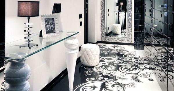 begovaya moderne wohnung schwarz weis, snap das imposante projekt begovaya – eine moderne wohnung in, Design ideen