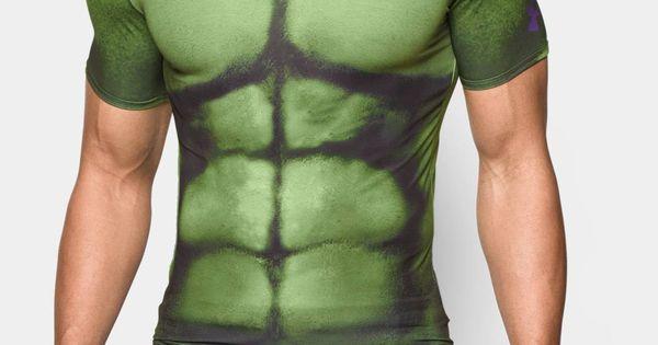 Alter Ego Hulk Compression Shirt Men S Short Sleeve Shirt
