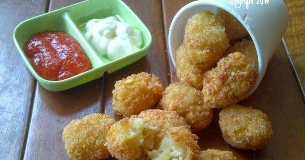 Tater Tots A K A Pompom Potatoes Cemilan Makanan Resep Masakan