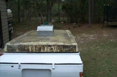 Coleman Pop Up Roof Repair Camper Redo Pinterest