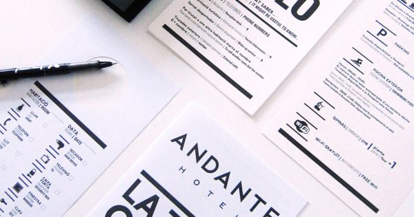 Andante Hotel by Gerundio , via Behance