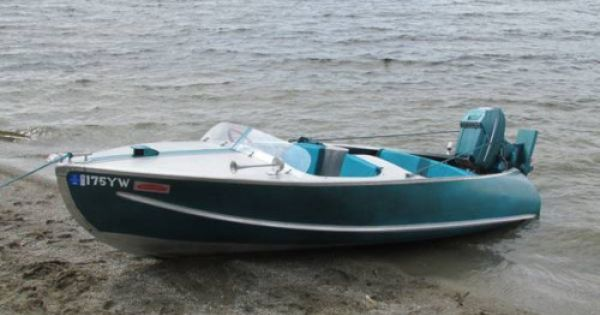 1957 Feathercraft Aluminum Boat Cool Boats Boat Building