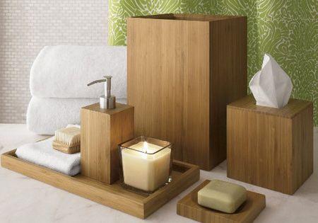 Bathroom decorating ideas bamboo accessories bamboo for Bamboo bathroom decorating ideas