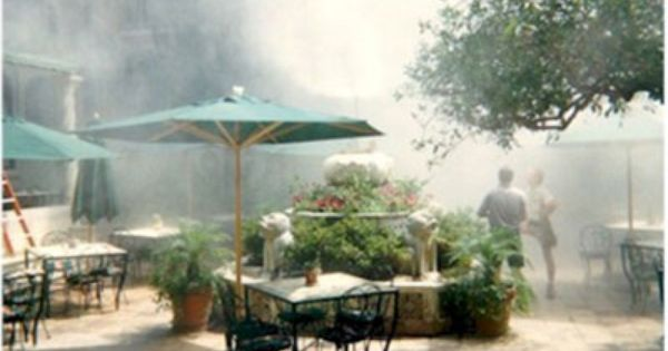 Cool Off Outdoor Dining With A Mist Misting Patio Misting