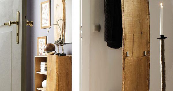 Garderobe loca einrichten und wohnen pinterest for Garderobe echtholz eiche