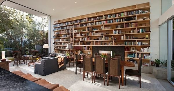 goodman residence by abramson teiger architects living pinterest innenarchitektur. Black Bedroom Furniture Sets. Home Design Ideas