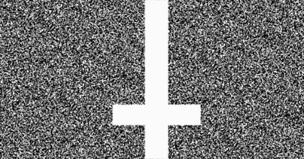 Upside Down Cross White Crosses Black And White Gif Black And White