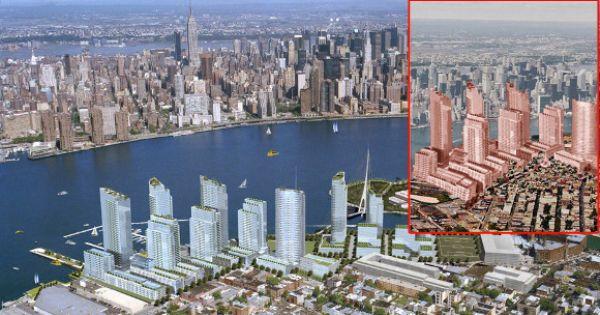 Brooklyn The Trendy Borough Will See Its Greenpoint Neighborhood Take On New Development A Massive Real E Brooklyn Real Estate Santiago Calatrava Greenpoint