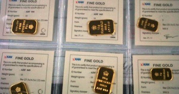 Harga Emas Sentuh Level Terendah Dalam Sembilan Bulan Emas