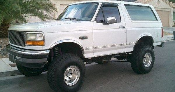 1994 95 96 Ford Bronco Xlt 4x4 Custom Built Image 1 With