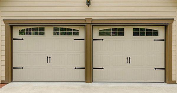 Magnetic Hinge It Decorative Garage Door Accent Hardware Kit Garage Door Decor Garage Doors Garage Interior