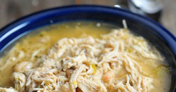 Recipe for white bean chicken chilli