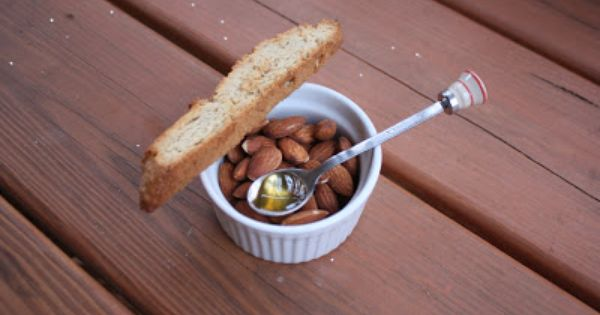 Chow And Chatter Honey And Almond Biscotti Recipe By Christina