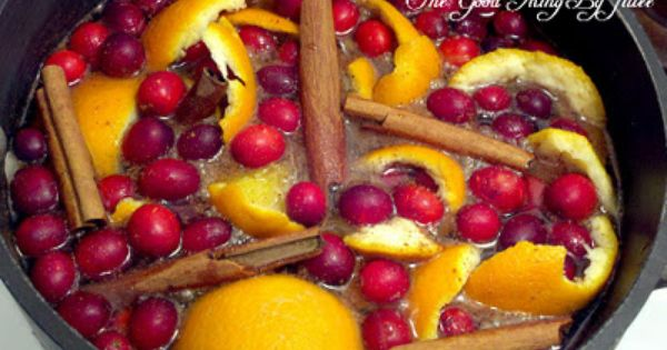 Scents of the Season…Simmering Stove Top Potpourri | One Good Thing by