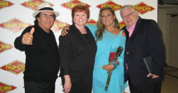 Romina Power And Al Bano Carrisi After Their Atlantic City New