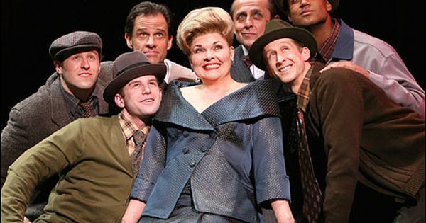 Debra Monk And Her Boys In Curtains The Musical By Kander And Ebb Curtains The Musical Debra Monk Broadway Musicals Costumes