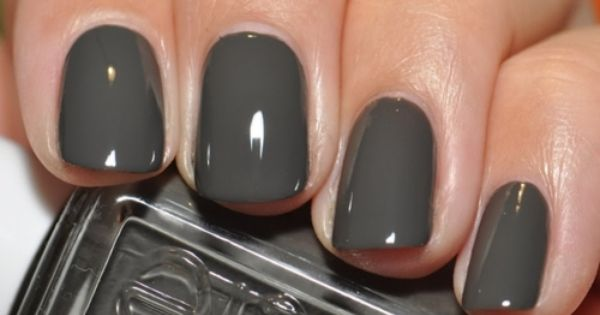 Essie Power Clutch Deep Grey Green With Images Trendy