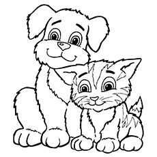Top 30 Free Printable Puppy Coloring Pages Online Puppy Coloring Pages Animal Coloring Pages Dog Coloring Page