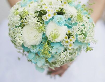 Aqua Wedding Ideas {Rustic} - repined by Iowa City Florist, Every Bloomin'