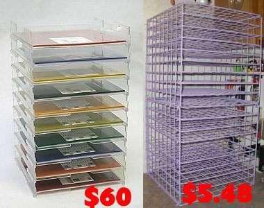 Scraproom 12 X 12 Shelf Craft Paper Storage Paper Storage Paper Storage 12x12