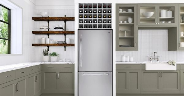 Above Refrigerator Cabinet Storage