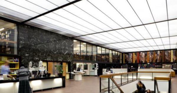 University of sheffield western bank library design - Sheffield school of interior design ...