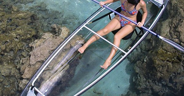glass bottom kayak - this is going on my bucket list.