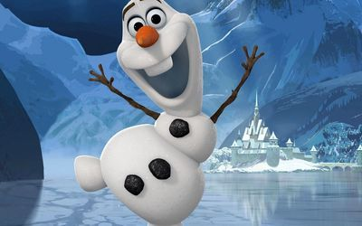 Dancing Olaf Frozen Wallpaper Frozen Wallpaper Olaf Cartoon Wallpaper
