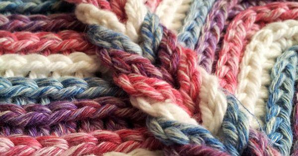 ::Rolling Ridge Blanket Crochet Pattern::- link sends you to buy pattern. But,