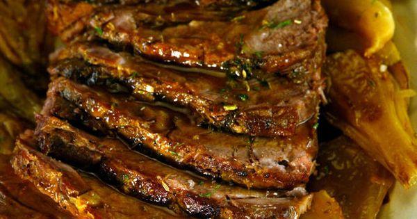 Braised Pork Shoulder With Apple Cider And Ginger Beer Recipe ...