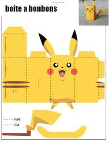 Theme Anniversaire Pokemon Jouets De Papier Et Poupées De