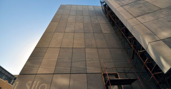 Precast Concrete Panels Add Lustre To No 1 Silo Precast Concrete