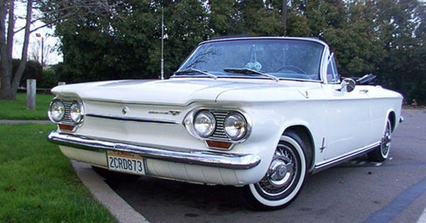 1963 Chevrolet Corvair Convertible Chevrolet Corvair Chevy Corvair Chevrolet