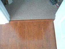 Finishing Carpet To Laminate Transition Installing Laminate