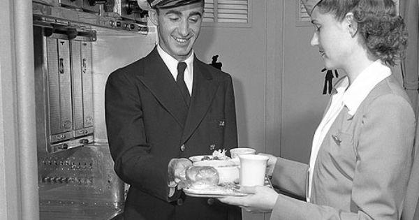 Fa 1946 47 Purser Vintage Airlines Delta Airlines Flight Attendant