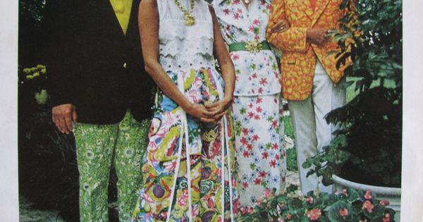 Vintage Lilly Pulitzer Print Ad From Vogue February 1973