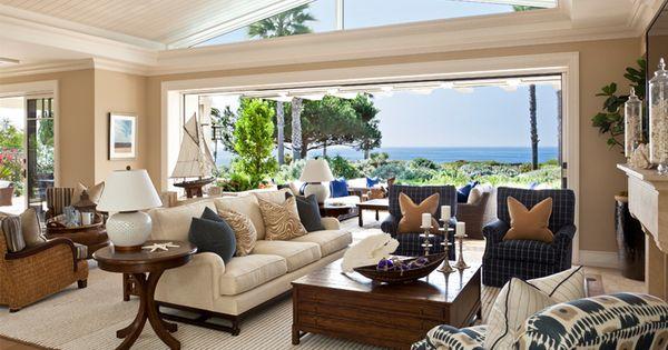 Barclay butera montage laguna living space barclay butera design pinterest living spaces for Laguna beach interior designers