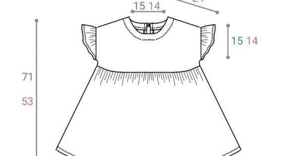 型紙 作り方 子供のフリル袖ワンピース ハンドメイド洋裁ブログ yanのてづくり手帖 簡単大人服 子供服 小物の無料型紙と作り方 子供 ドレス 手作り 幼児向けの洋服 ベビー服のパターン