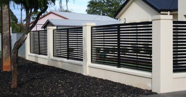 Home Front Fence Design