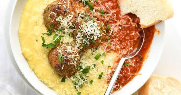 Baked turkey meatballs, Baked turkey and Turkey meatballs on Pinterest