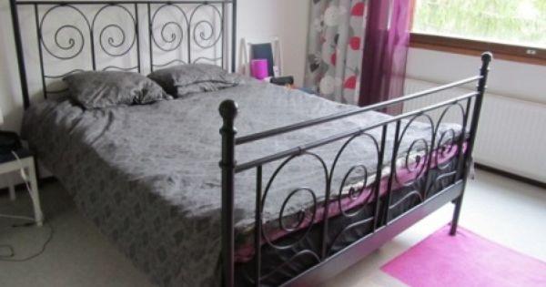 Noresund Bed Goes Modern Ikea Hackers Ikea Bed Frames Ikea Metal Bed Frame Ikea Metal Bed