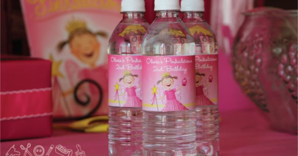 Cute idea for a Pinkalicious birthday party