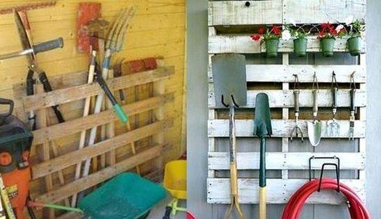 conseils et id es pour ranger vos outils de jardinage outils de jardin ranger et outils. Black Bedroom Furniture Sets. Home Design Ideas