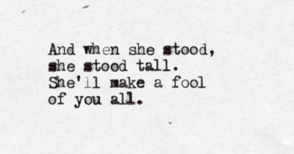 the lumineers lyrics