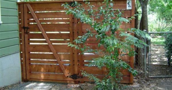 Custom Horizontal Fence Using 1x4 1x6 And 1x8 Boards Gate Area Backyard Fences Wood Fence Fence Design