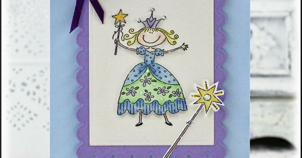Pretty princess stampin 39 up image and sentiment by ead for Stampin pretty craft room
