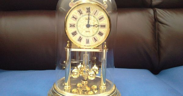 50th Anniversary Clock With Metal Base Sold As Is Anniversary Clock Clock Metal Base